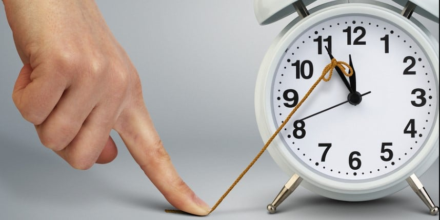 Jangan tunda pekerjaan dan disiplin pada waktu