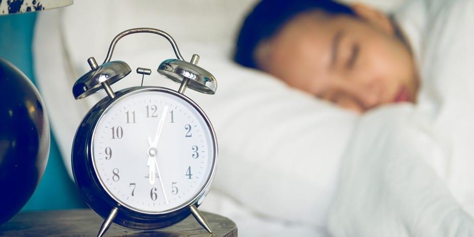 Estimasi tidur di malam hari