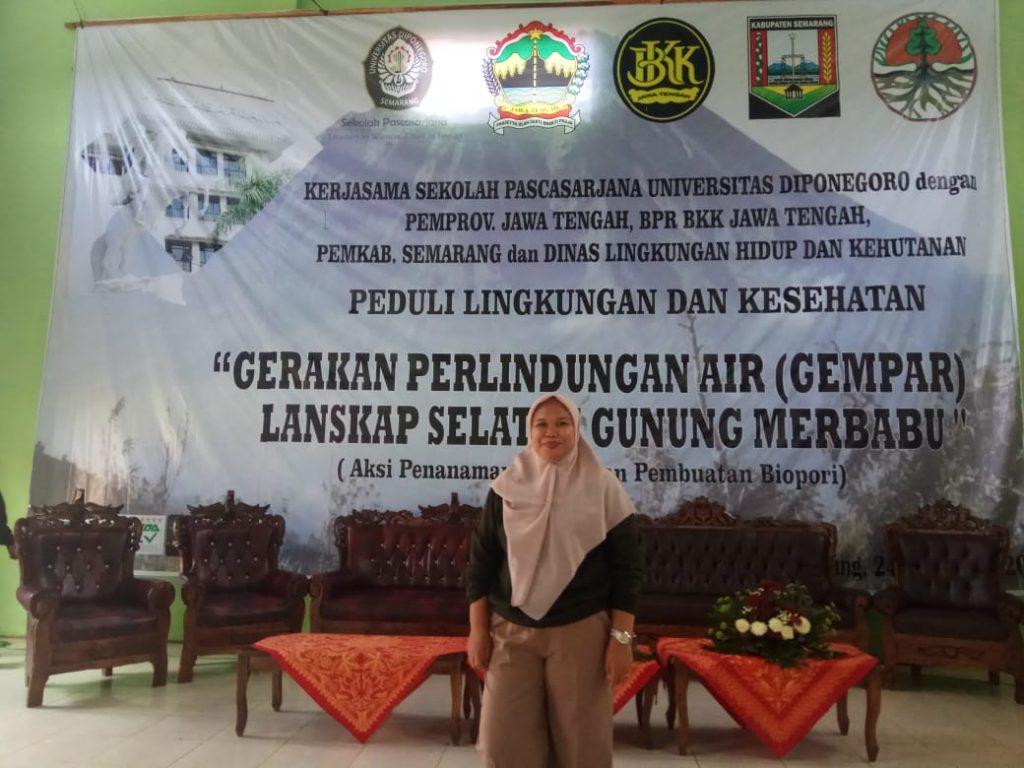 Nurhayani, Mahasiswa UNDIP Semarang