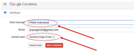 Memanfaatkan Fungsi Notifikasi Google Scholar4