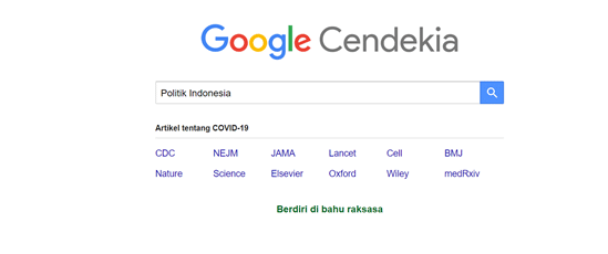 Mencari Topik di Google Cendekia 1