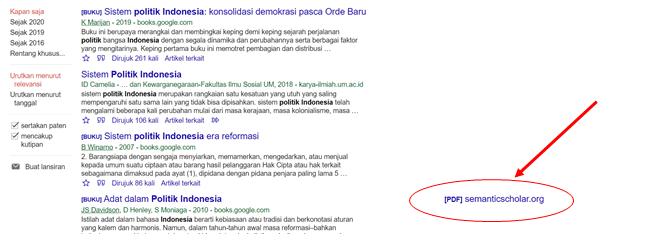 Cara Lengkap dan Sistematis Mencari Jurnal di Google Cendekia